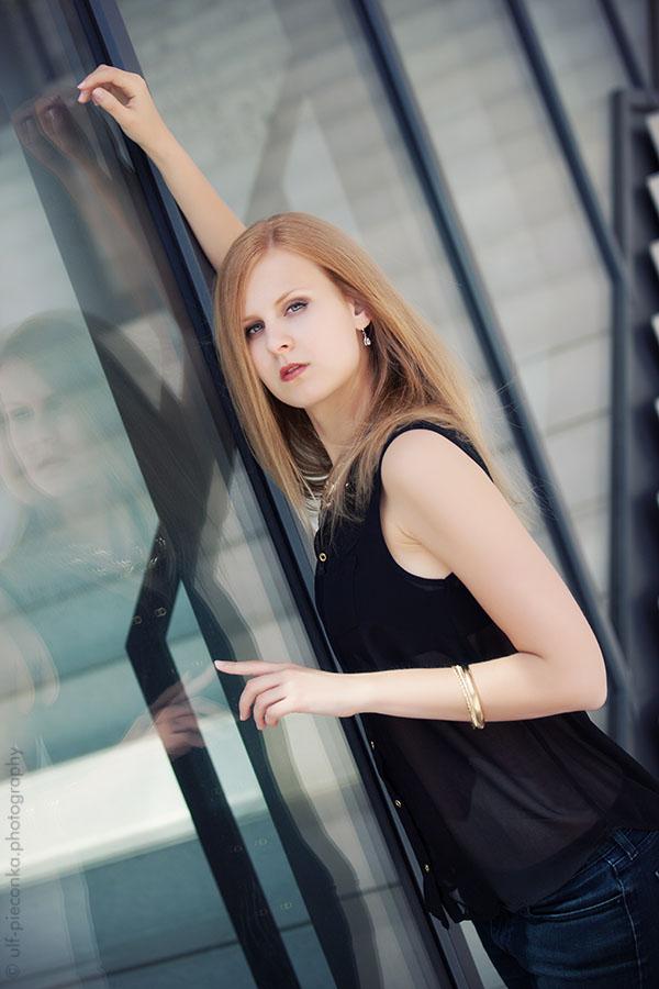 Model Palomita - Portrait outdoor von up fotodesign