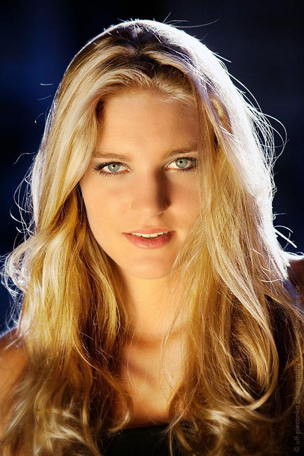 Top-Model Leandra fotografiert von up fotodesign in Würzburg