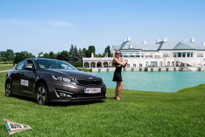 Auto mit Model