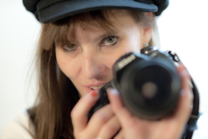 Fotowelle-Fotografin