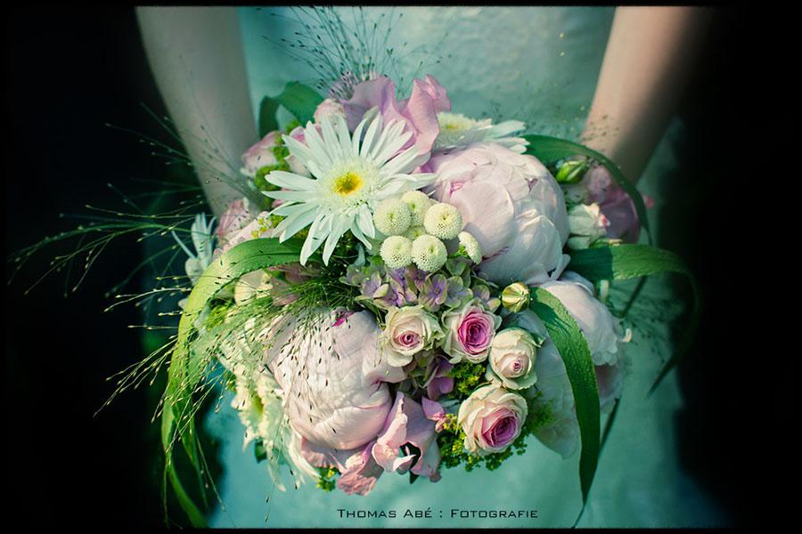 Thomas Abe - Hochzeit - Brautstrauss
