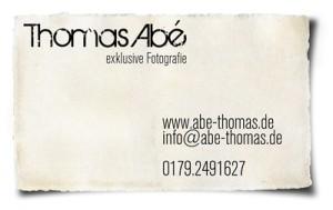 Visitenkarte-Collage Thomas Abé